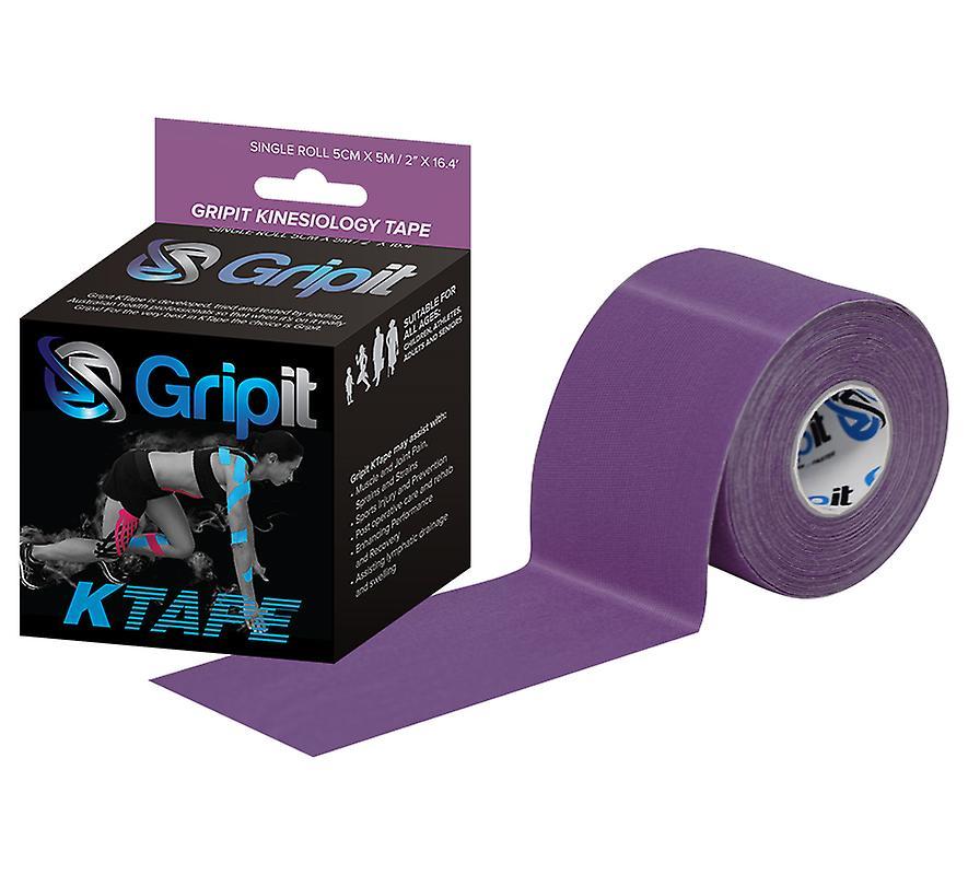 Clinical Kinesiology Tape 5cm x 5m Purple