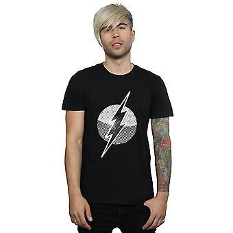 DC Comics Men's T-Shirt Flash miejscu Logo