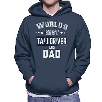 Mondi migliori tassista e papà uomo Felpa con cappuccio