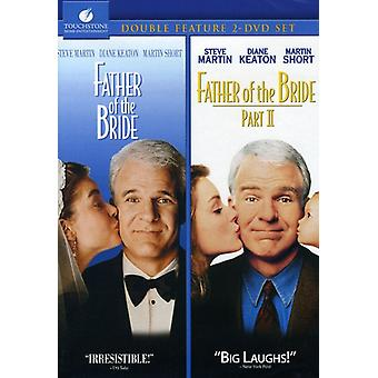 Father of the Bride 1 & 2 [DVD] USA import