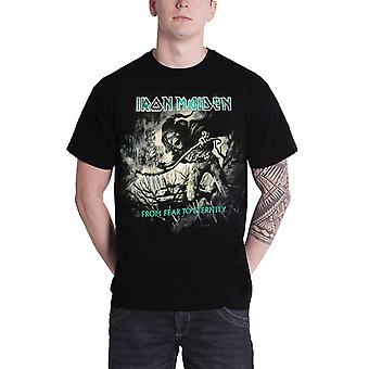 Iron Maiden T Shirt From Fear to Eternity Distressed Official Mens New Black