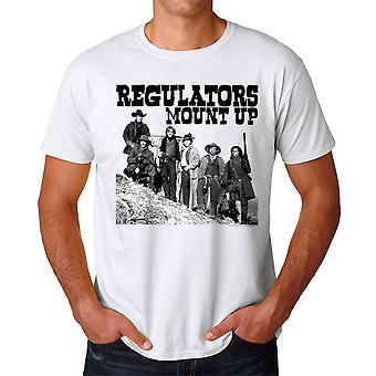 Young Guns Mount Up Men's White T-shirt