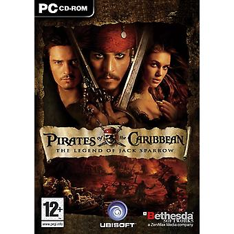 Pirates Of The Caribbean The Legend of Jack Sparrow (PC DVD) - As New
