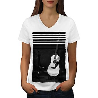 Gitar Solo sang musikk menn RedV hals t skjorte | Wellcoda