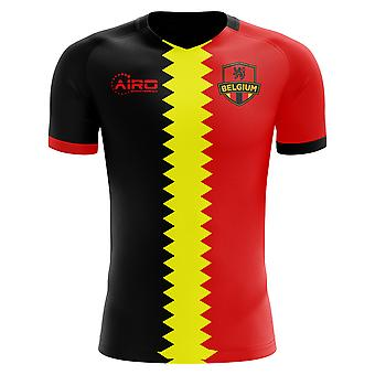 2020-2021 Belgique Drapeau Concept Football Shirt