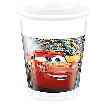 Becher Trinkbecher Cup Cars 3 Kinderparty Geburtstag 200ml 8 Stück