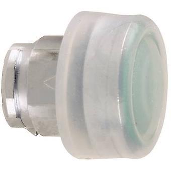 Schneider Electric Harmony ZB4BP3 Pushbutton + skyddslock, Planar 1-knapp Grön Tryck 1 st(ar)