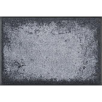 wassen + droge mat van tinten van grijs wasbaar vuil mat lopers