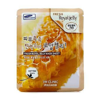 3w Clinic Mask Sheet - Fresh Royal Jelly - 10pcs