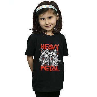 Marvel Girls Iron Man Heavy Metal T-Shirt