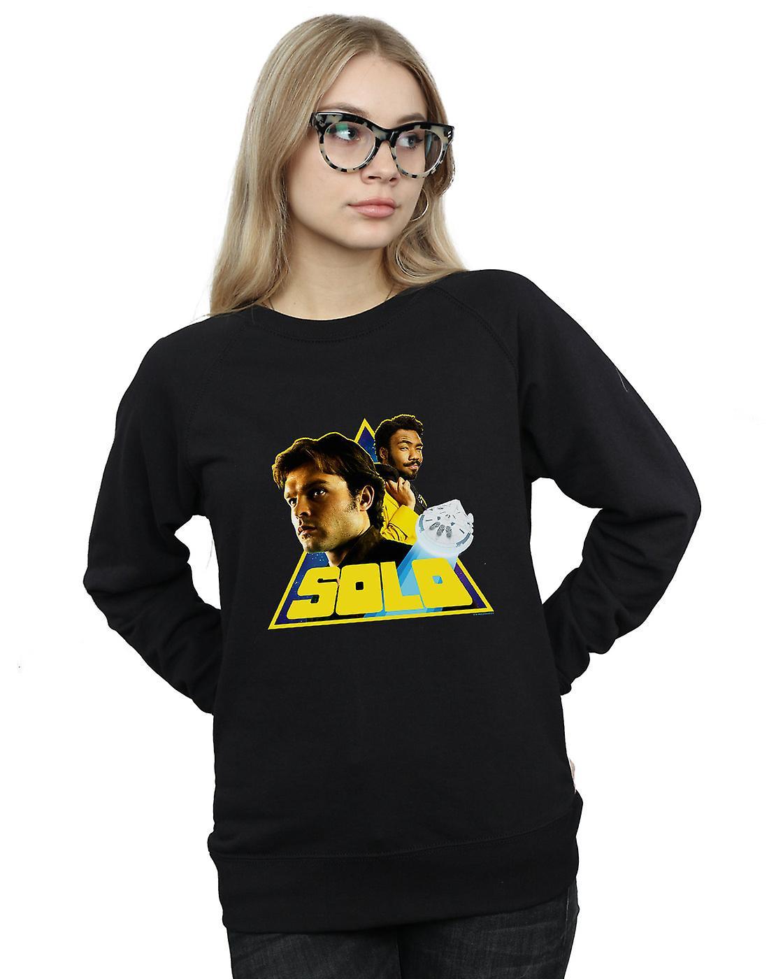 Star Wars Women's Solo Retro Triangle Sweatshirt