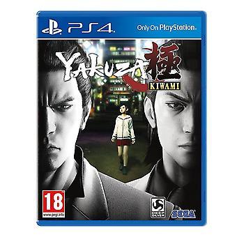 Yakuza Kiwami Standard Edition PS4 Game