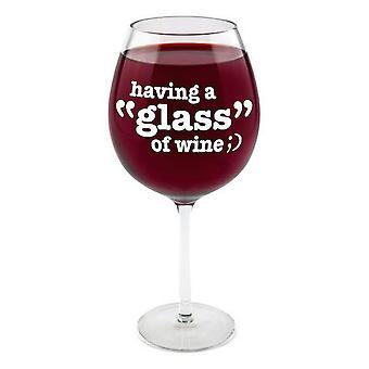 BigMouth Inc gigantische wijnglas