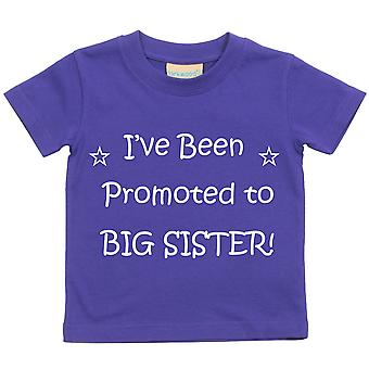 I've Been Promoted To Big Sister Purple Tshirt