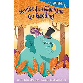 Scimmia ed elefante andare Gariboldi (Candlewick Sparks)