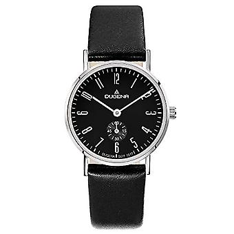 Dugena Watch Analog quartz ladies watch with leather 4460665