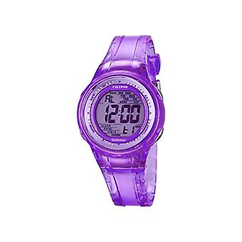 Calypso K5688/3-women's wristwatch, plastic, color: purple