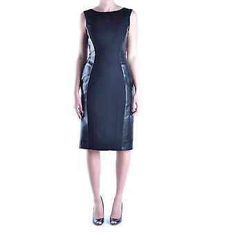 Alberta Ferretti Ezbc027002 Women's Black Wool Dress