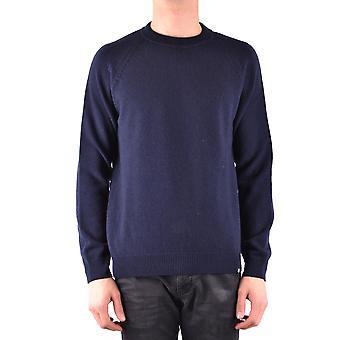 Paul Smith Ezbc083002 Män's Blue Wool Tröja