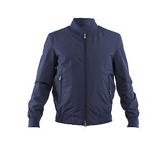 Corneliani 83l5a19120133001 Men's Blue Polyester Outerwear Jacket