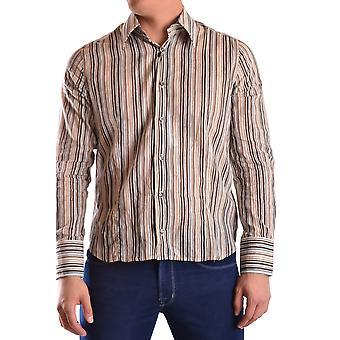 Gazzarrini Ezbc204007 Men's Multicolor Cotton Shirt