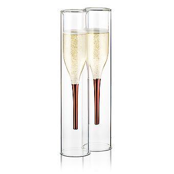 الإبهامحتى من الداخل الى الخارج الشمبانيا المزامير