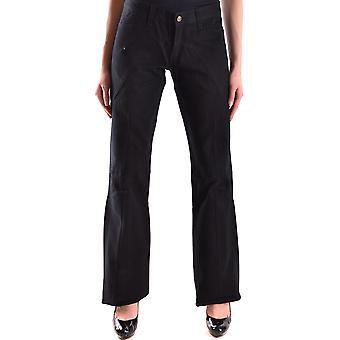 Andrew Mackenzie Ezbc245002 Kvinder's Black Denim Jeans