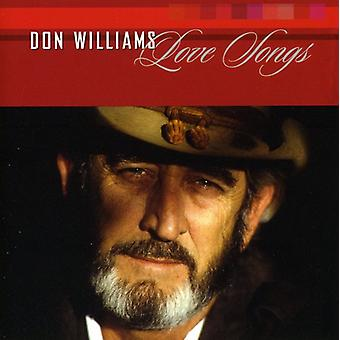 Don Williams - Love Songs [CD] USA import