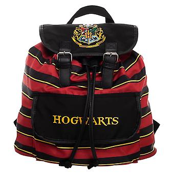Knapsack listrado da crista de Harry Potter Hogwarts