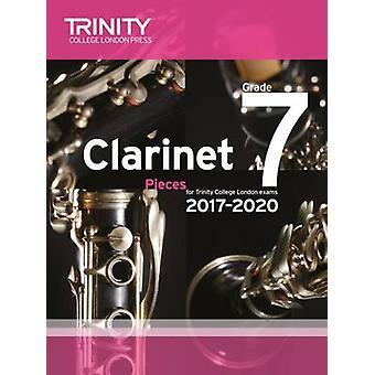 Clarinet Exam Pieces Grade 7 2017 2020 (Score & Part) - 9780857365491