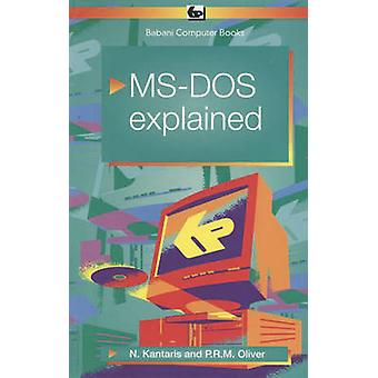 MS-DOS 6 Explained by Noel Kantaris - 9780859343411 Book