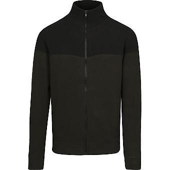 Urban Classics Men's Fleece Jacket Oversize 2-Tone Polar Fleece Jacket