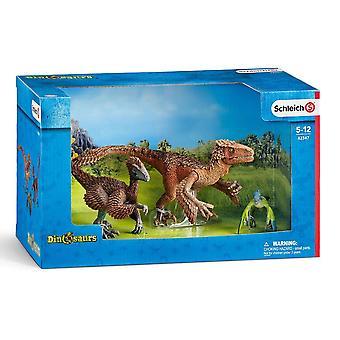 شليش الديناصورات الريش رابتورز الرقم (42347)