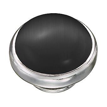 KAMELEON Black Cat's Eye Sterling Silver JewelPop KJP566