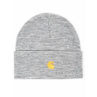 Carhartt WIP Chase Beanie Hat - Grey Heather