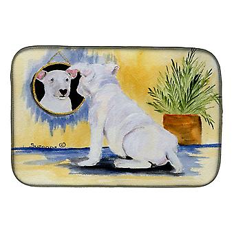 Carolines Treasures  SS8135DDM Bull Terrier Dish Drying Mat