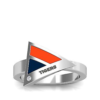 Auburn University Diamond Ring In Sterling Silver Design by BIXLER