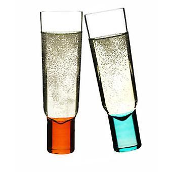 Sagaform Club design Champagne pahare, set de 2