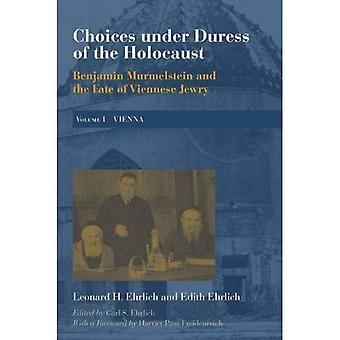 Choices under Duress of the Holocaust: Benjamin Murmelstein and the Fate of Viennese Jewry, Volume I: Vienna