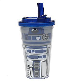 Cold Cup - Star Wars - R2-D2 Uniform w/ Flip Straw 16oz 37833