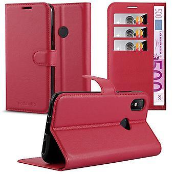 Cadorabo geval voor Xiaomi mi a2/6X gevaldekking-telefoon geval geval met magnetische clasp, stand functie en kaart compartiment-gevaldekking geval geval geval zaak geval boek vouwen stijl