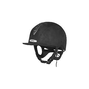 Champion Junior X-Air Plus Ratsastus hattu-musta