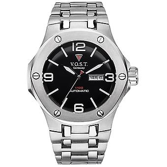 V.O.S.T. Germany V 100.016 Steel automatic men's Watch 44mm