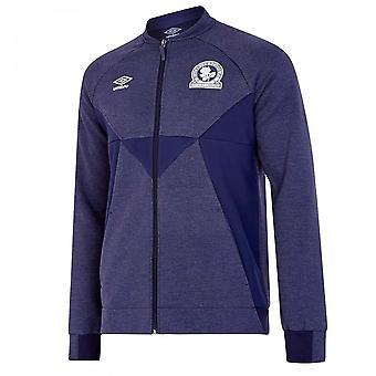 2019-2020 Blackburn Umbro presentations jacka (blå)