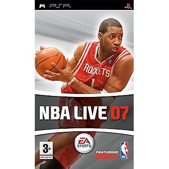 NBA Live 07 (PSP)-nieuw
