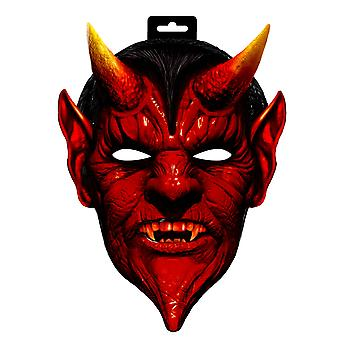 Teufel Maske Teufelmaske Satan Halloween