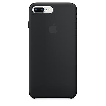 Original Packed MQGW2ZM/A Apple Silicone Microfiber Cover Case for iPhone 8+ Plus / 7+ - Black