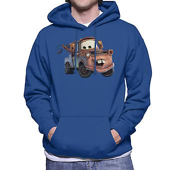 Disney Cars Tow Mater Smile mannen ' s Hooded Sweatshirt