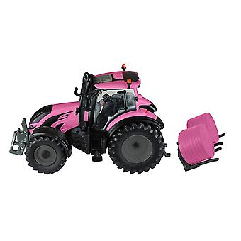 Britains 1:32 Valtra Pink Tractor Play Set