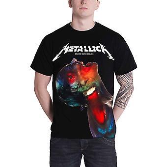Metallica T Shirt Hardwired zelf vernietigen nachtvlinder Jumbo nieuwe officiële Mens zwart